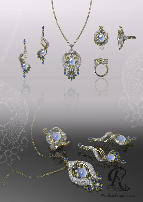 Melodies in the Garden of Faith 2015 Dubai International Jewellery