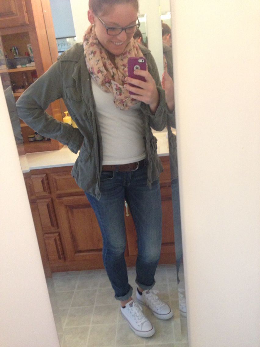 Comfy and warm fall outfit