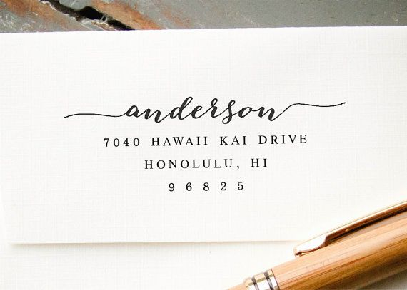 Personalized Self Inking Stamp Custom