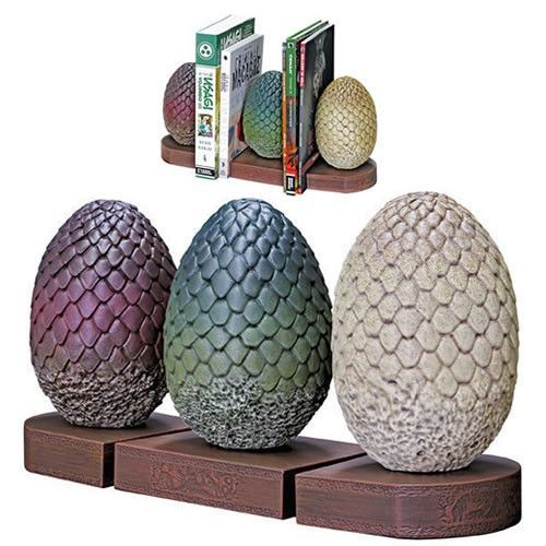 Game Of Thrones Dragon Egg Bookends Are Perfect For Any