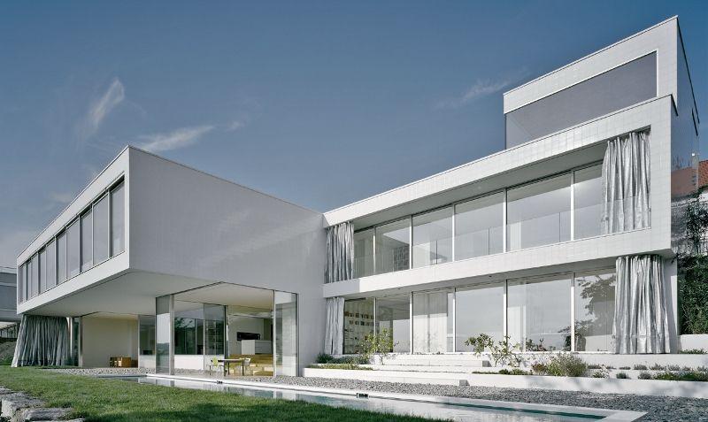La cucina come centro dell 39 architettura moderna la for Case moderne contemporanee