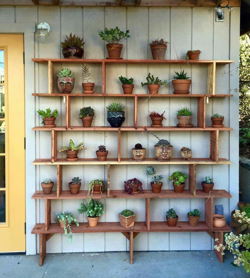 Estanterias para macetas estanteria para macetas - Estantes para plantas ...