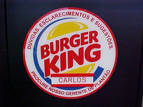 Burger King Gerente