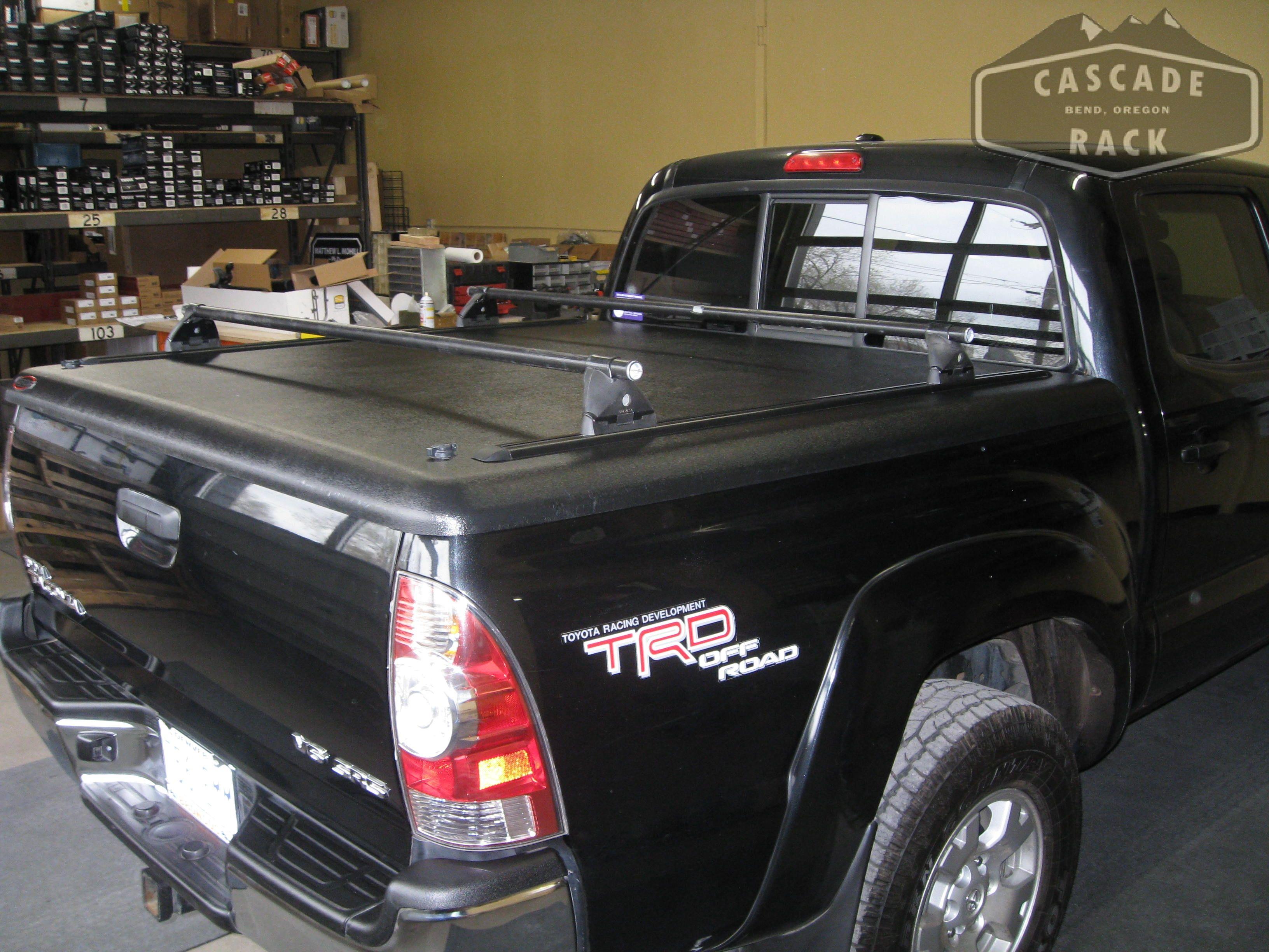 Rack Installation Undercover Tonneau Cover Yakima Cascade