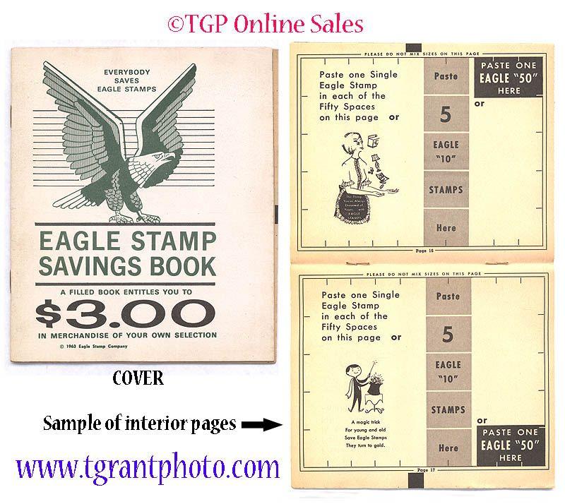 Eagle stamp savings book picknpay 1963 book stamp