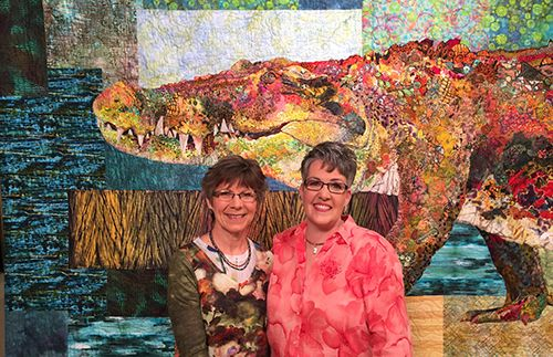 """In mid-March, we shot """" Quilting Arts TV """"  Series 1800 at KS Productions  in Solon, Ohio. It will start airing on about..."""