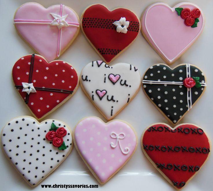 Resultado De Imagen Para Valentines Cookies Galletitas Pinterest