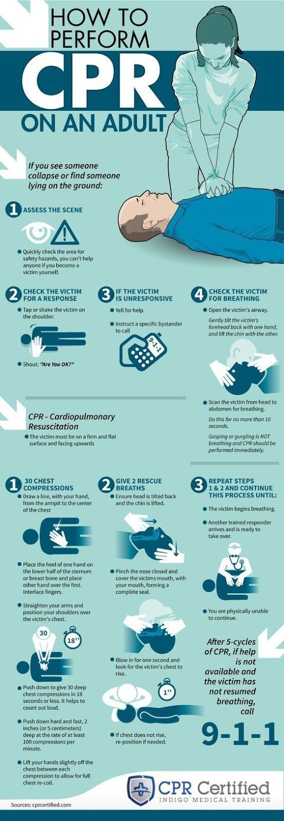 CPR Infographic
