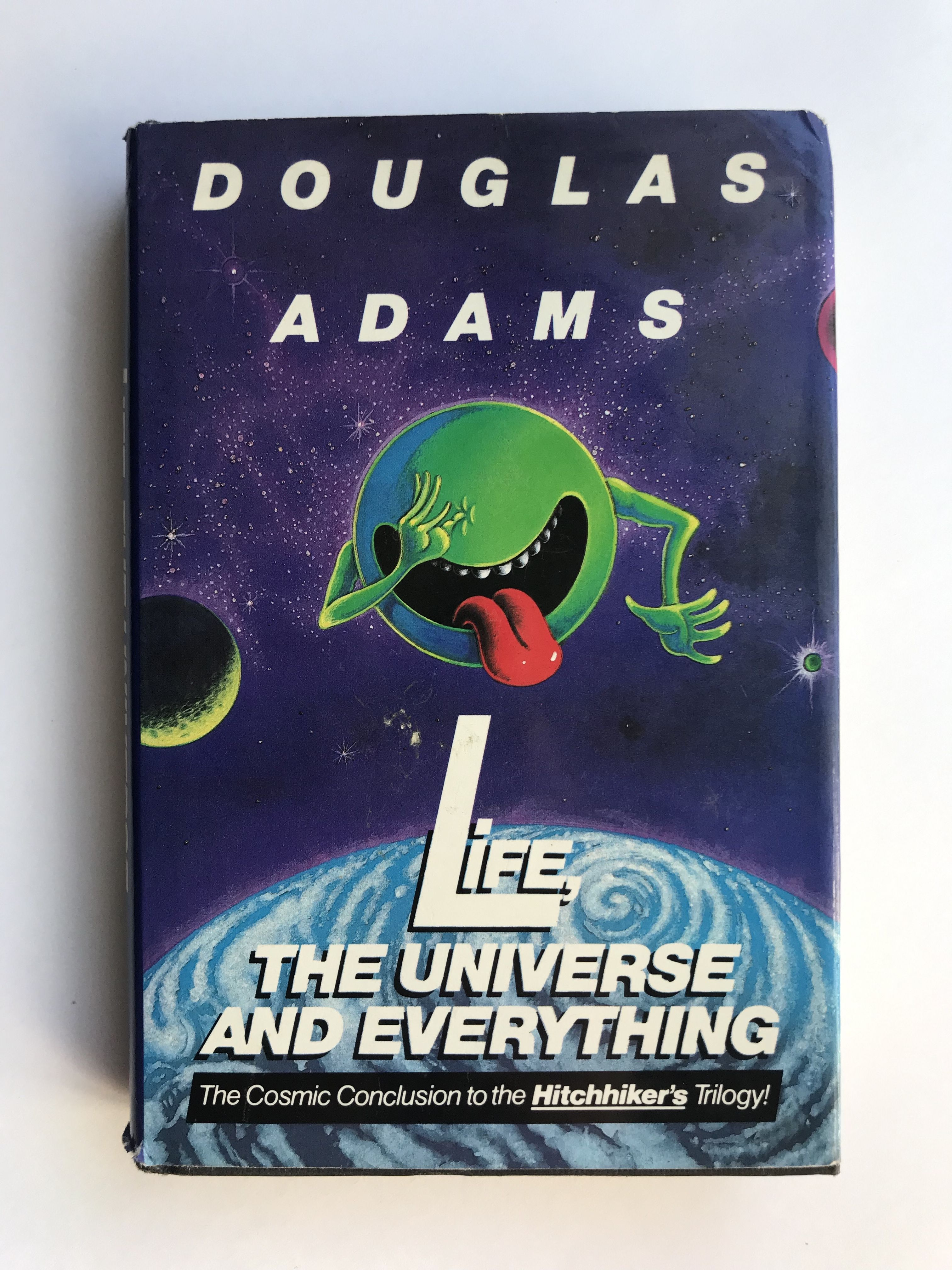 Douglas Adams Life The Universe And Everything First Edition First Print Douglas Adams Chan Hitchhikers Guide To The Galaxy Geek Books Comic Book Crafts