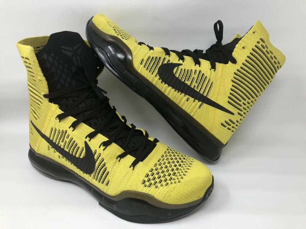 06b3088aab6e Nike Kobe X 10 Elite CODA Opening Night Act One (Size 12) 802762-707 ...