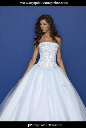 GET QUINCE IDEAS A Winter Wonderland Theme The Perfect Dress Wholesale Wedding