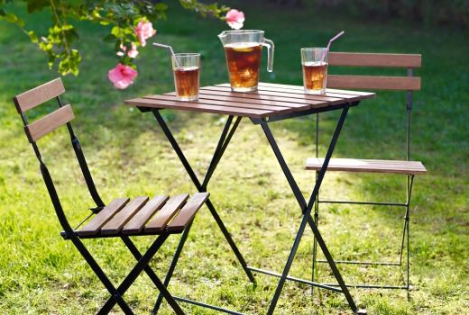 ikea garden table chairs small table and 2 chairs - Garden Furniture Ikea