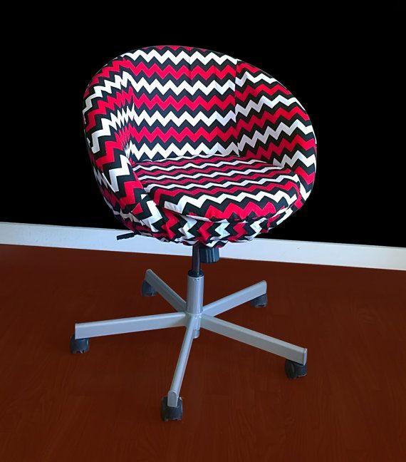 Enjoyable Black Triangle Print Ikea Skruvsta Chair Slip Cover In 2019 Machost Co Dining Chair Design Ideas Machostcouk