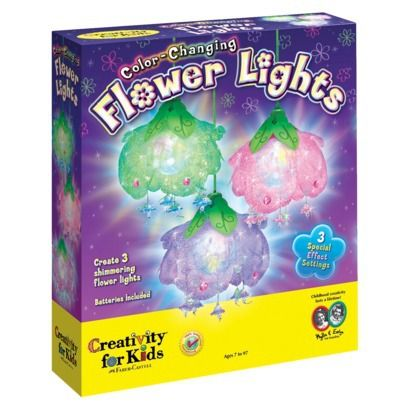 Creativity for Kids Color Changing Flower Lights Target 21.49