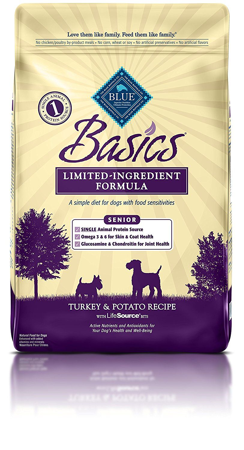 Blue Buffalo Basics Limited Ingredient Dry Senior Dog Food Trust