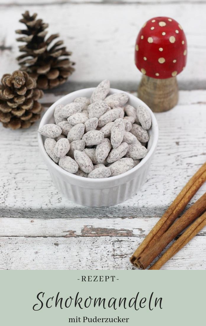 Rezept: Schokomandeln #weihnachtsgeschenkeselbermachen