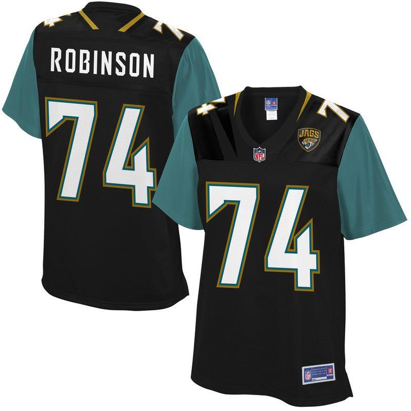 Cam Robinson Jacksonville Jaguars NFL Pro Line Women s Player Jersey - Black b3af3acf0