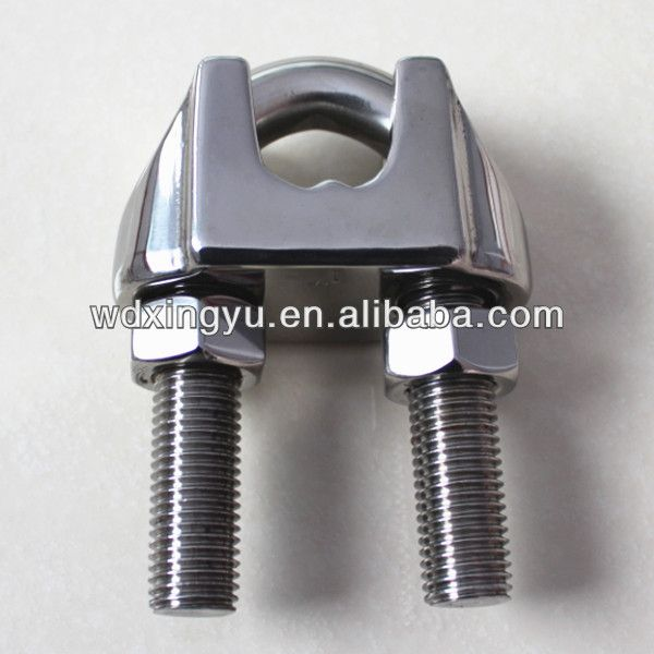 Wire Rope Clips Wire Rope Clamps Wire Rope Grips U S Type 0 1 10 Rope Clamp Steel Structure Metal