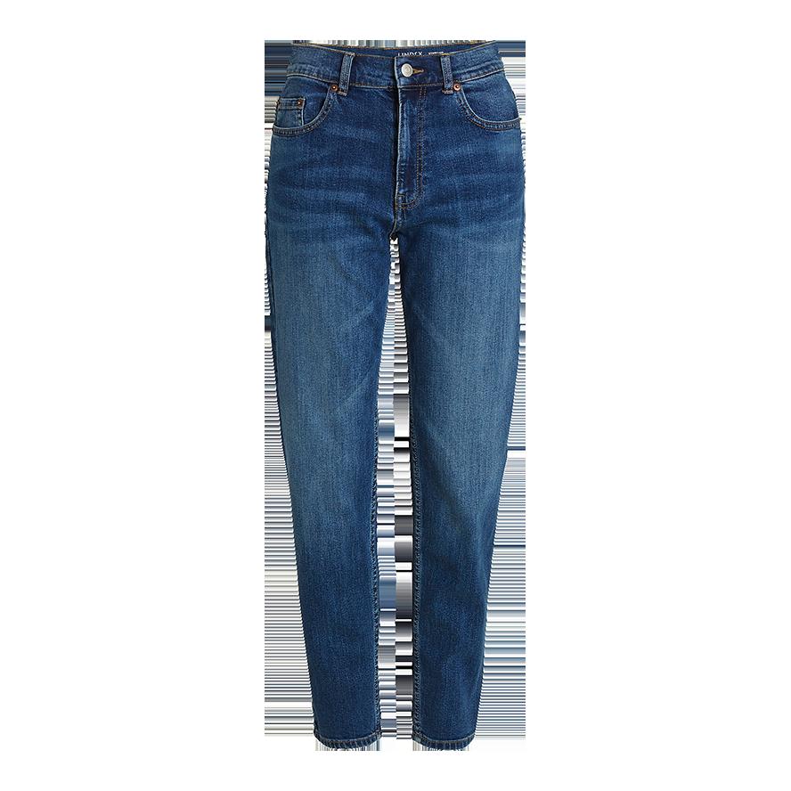Vintage høy jeans, Blå, Nyankommet, Dame | Lindex
