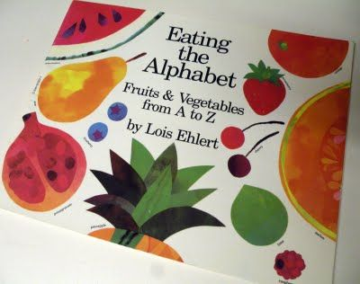 Nutrition Alphabet Coloring Pages : Eating the alphabet abc book great for word world theme with a