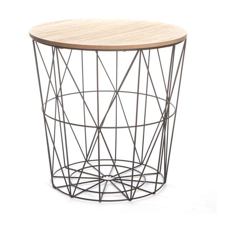 CENTRAKOR - table bout de canapé à 17,99€ | Deco | Bout de canapé ...