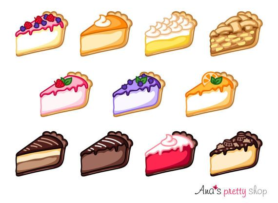 PIE CHEESECAKE PIES BAKERY IBAKING DESSERTS SWEETS COTTON FABRIC FQ