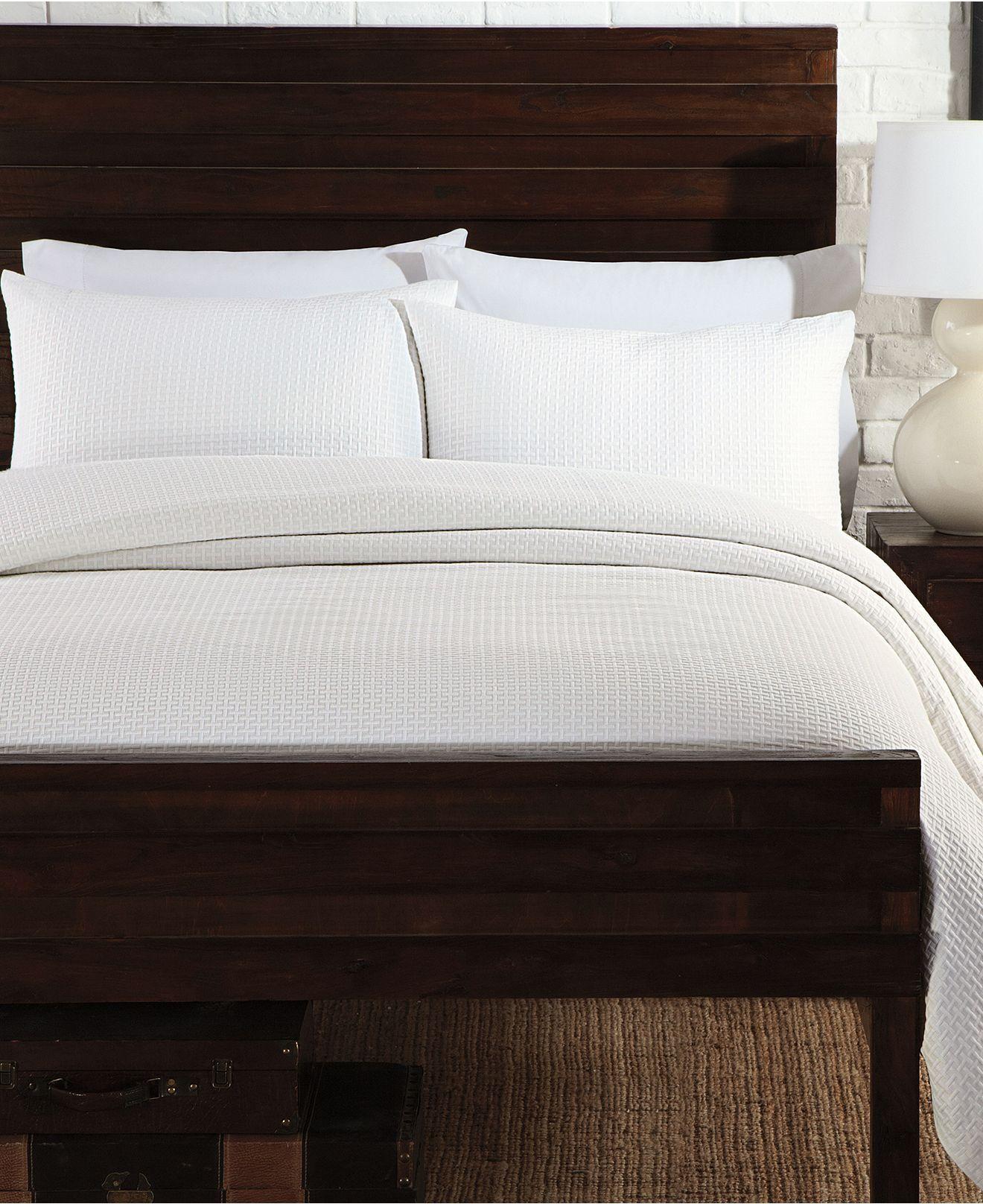 basketweave coverlet set - quilts & bedspreads - bed & bath