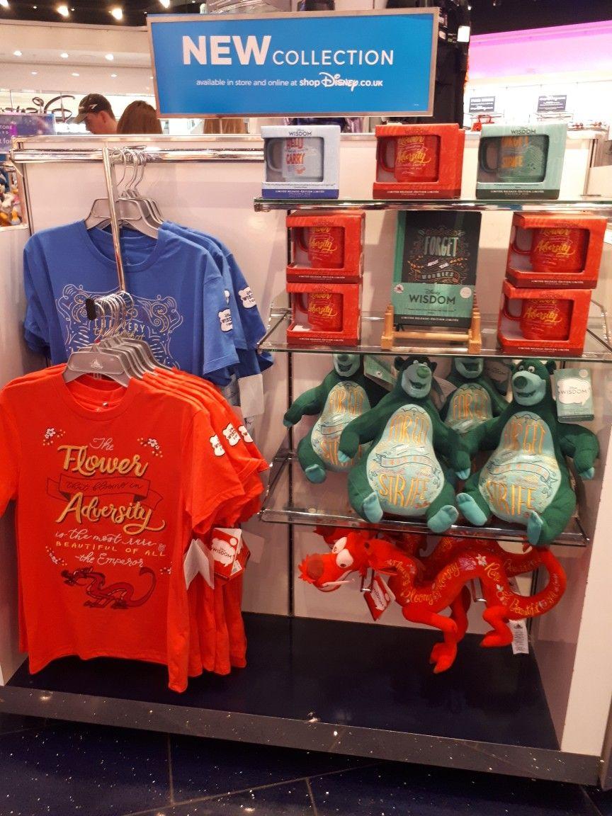 Meadowhall Disney Store 10 04 2019 | Disney Wisdom Collection 2019