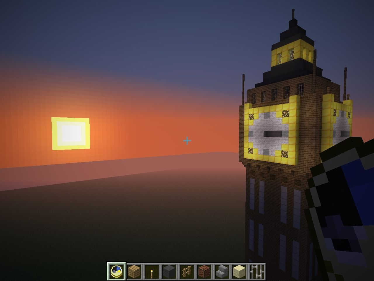 Big Ben Clock Tower With Working Clock Minecraft Project. Big Ben Clock Tower With Working Clock Minecraft Project