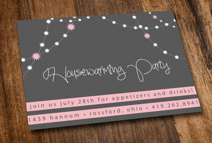 Interesting Design House Warming Gifts Invitation Mat