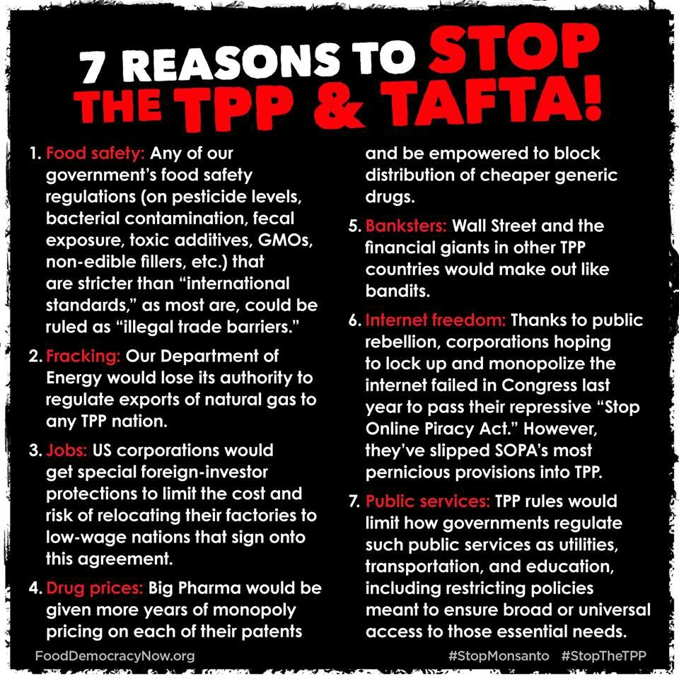 Tpp And Tafta Two Proposed Trade Agreements To Further Gut The Us