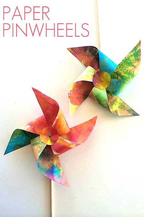 A Simple Tutorial For Making Paper Pinwheels From The Fabulous New Book Artful Year