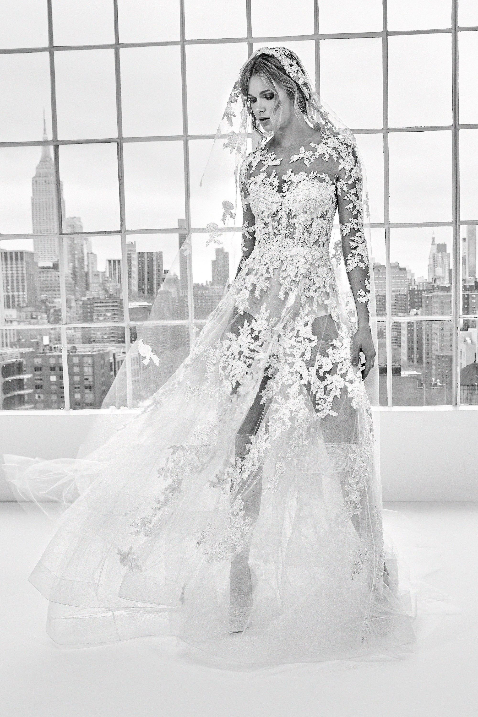 Zuhair murad bridal spring collection photos vogue wedding
