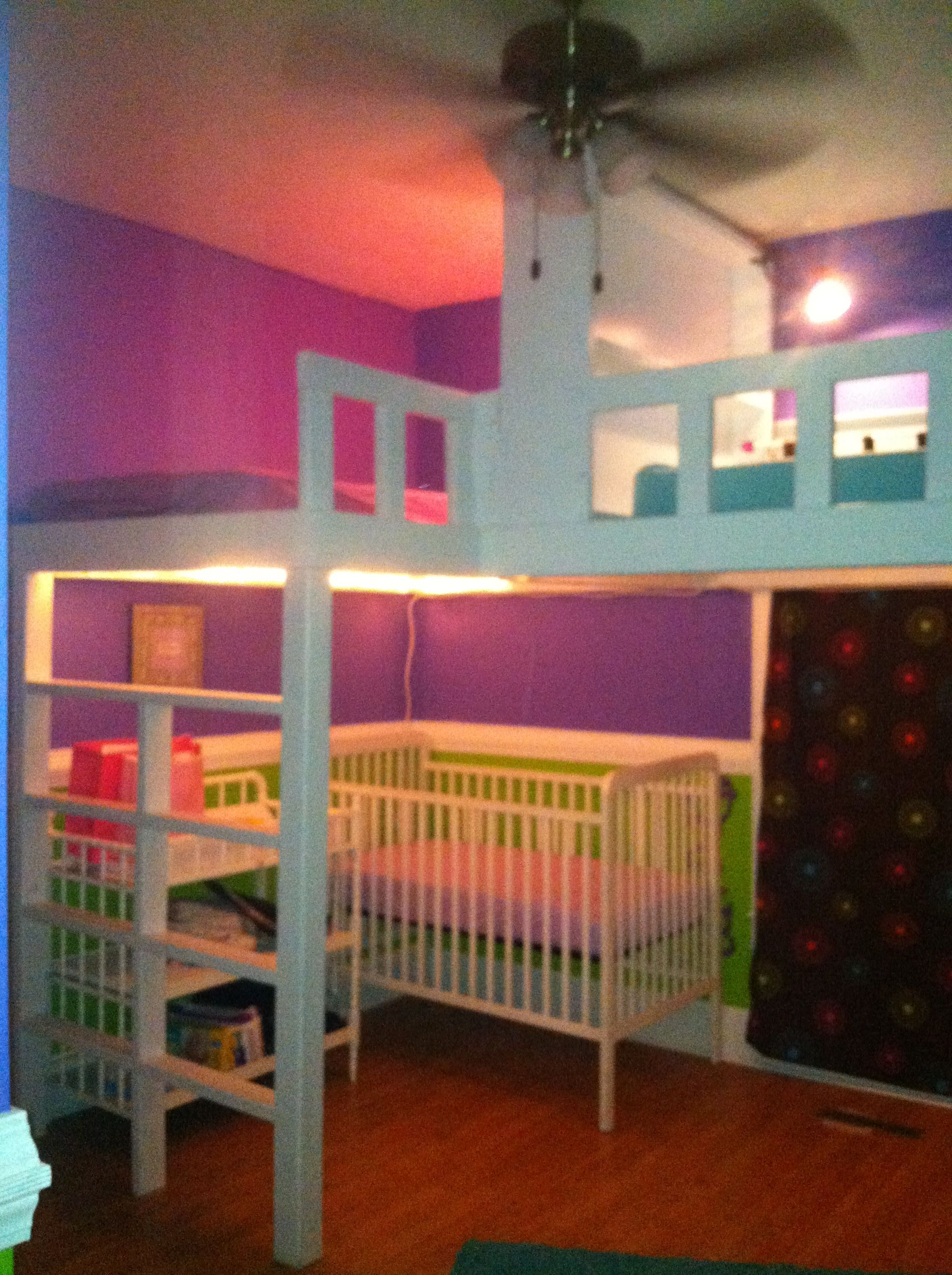 Best Three Girls In One Room Loft Beds For The Home 640 x 480