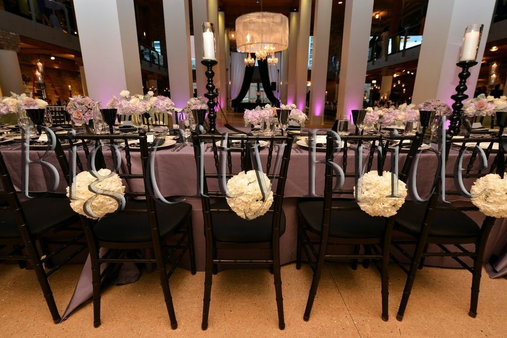 Head Table floral arrangements! Little details make a BIG