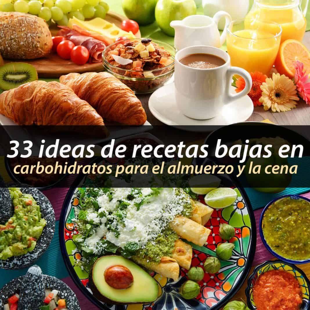 34 Ideas De Recetas Bajas En Carbohidratos Para El Almuerzo Y La Cena La Guía De Las Vitaminas Real Food Recipes Healthy Recipes Food