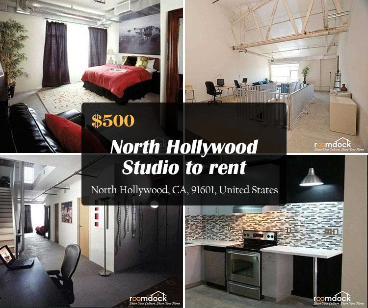 Studio Rooms For Rent: $500 -North Hollywood Studio To Rent