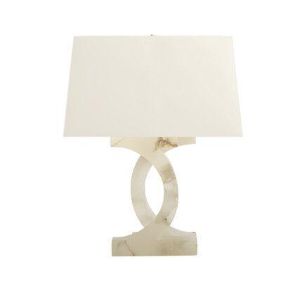 Baker furniture alabaster concentric circles lamp ph206 thomas pheasant browse products