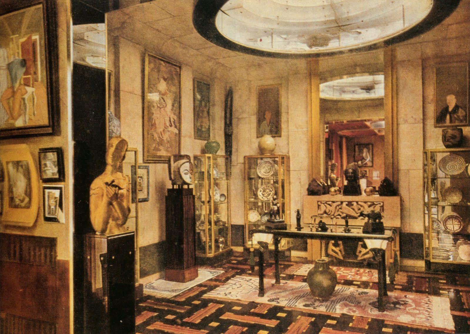 For pilar jacques doucet 39 s paris apartment by eileen - Salon art deco paris ...