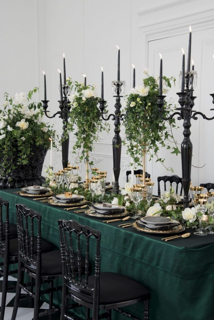 Luxe Emerald Wedding Inspiration
