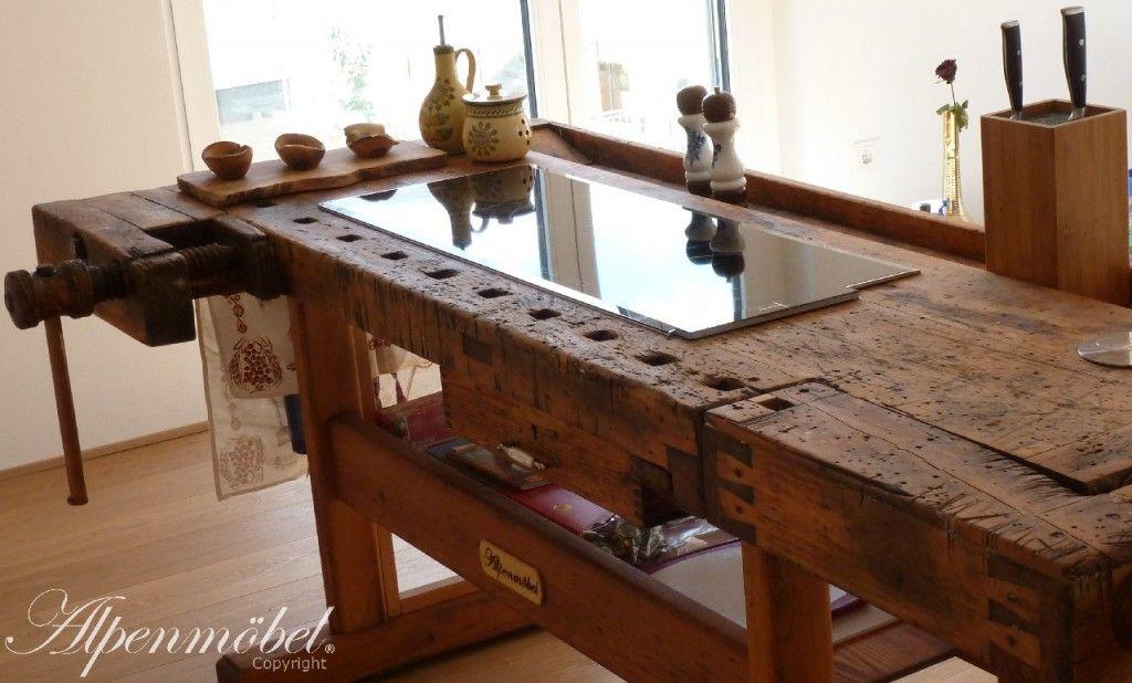 Kochinsel Arbeitsplatte alpenmöbel design trifft geschichte produkte kochinsel