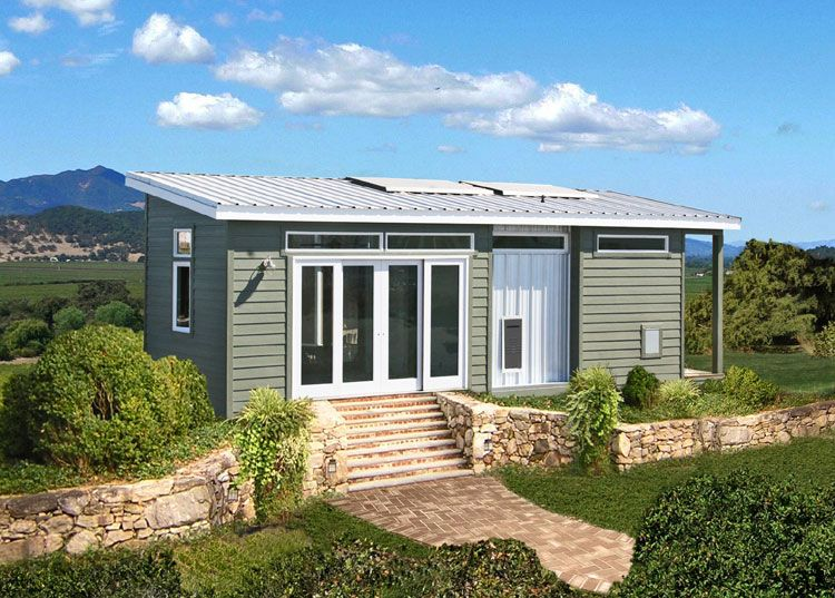 Off The Grid Home Plans The Solar Home Has A 47 000