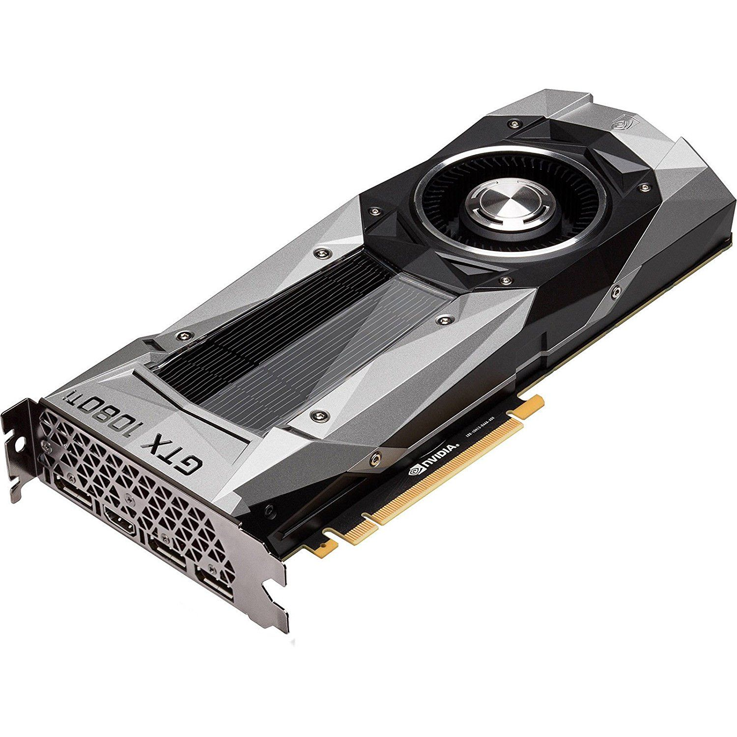 Nvidia Geforce Gtx 1080 Ti Fe Founder S Edition Graphic Card Nvidia Video Card