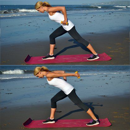 Get a total-body workout with this athlete's workout plan. Burn fat and sculpt lean muscle by doing this cardio and strength routine. You will be ready to flaunt your bikini body when summer rolls around after sticking to this plan!