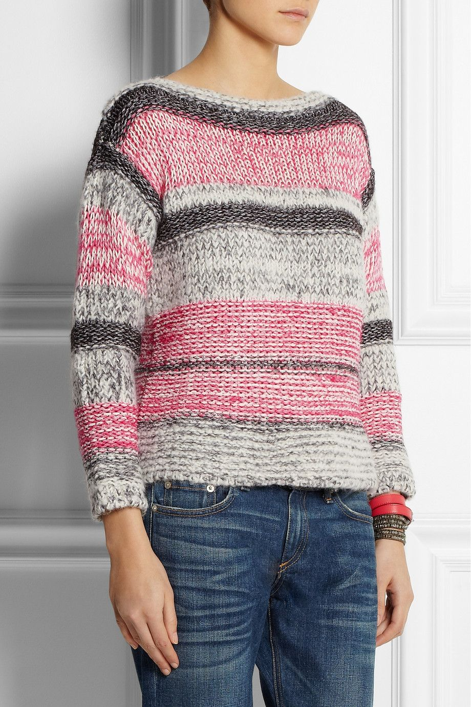 Étoile Isabel Marant | Striped cotton-blend sweater