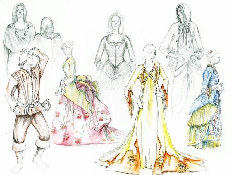 Costume design work found on google