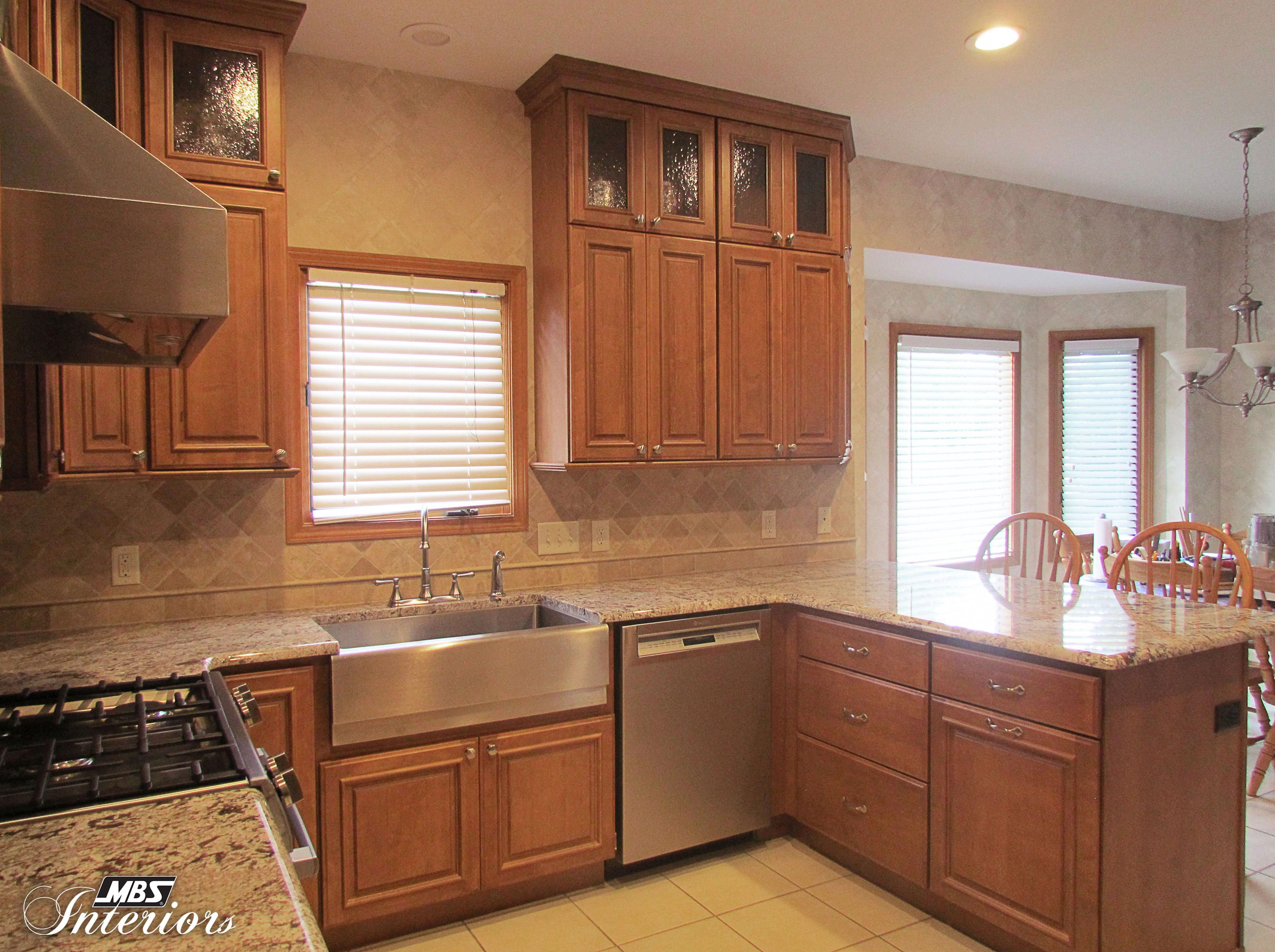 A Kitchen Remodel In Holland Ohio Has A Simple Layout With A Ton Of Character Amy Kitchen Cabinets Design Layout Kitchen Designs Layout Used Kitchen Cabinets