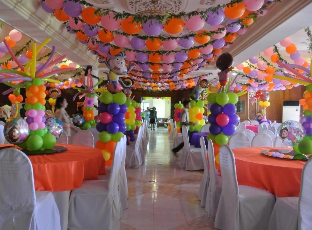 Image result for birthday event decoration