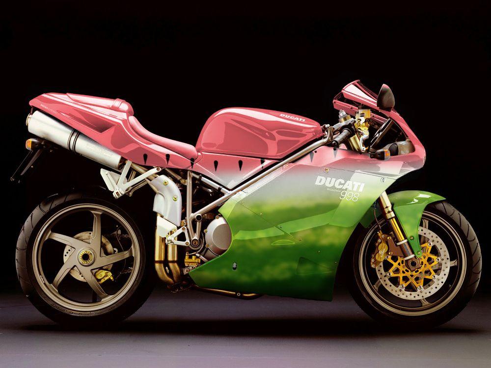 Watermelon Motorcycle