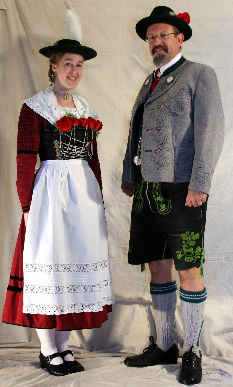FolkCostume&Embroidery | Women's Costume of Miesbach region, Upper Bavaria, Germany